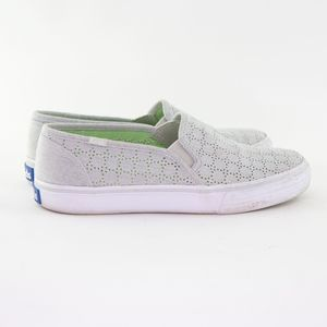 KEDS Double Deck Perforated Slip On Shoes Size 7.5